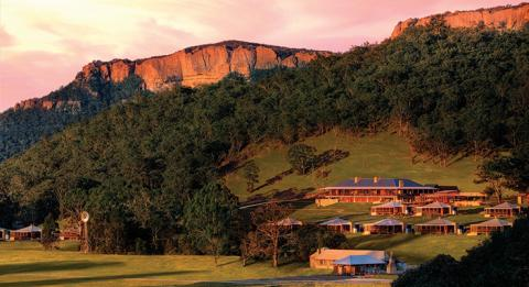 蓝山 (Blue Mountains) W​olgan Valley Resort and Spa