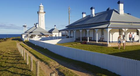 南部海岸 (South Coast) 本博伊德国家公园 (Ben Boyd National Park) 绿角灯塔小屋 (Green Cape Lightstation Cottage)