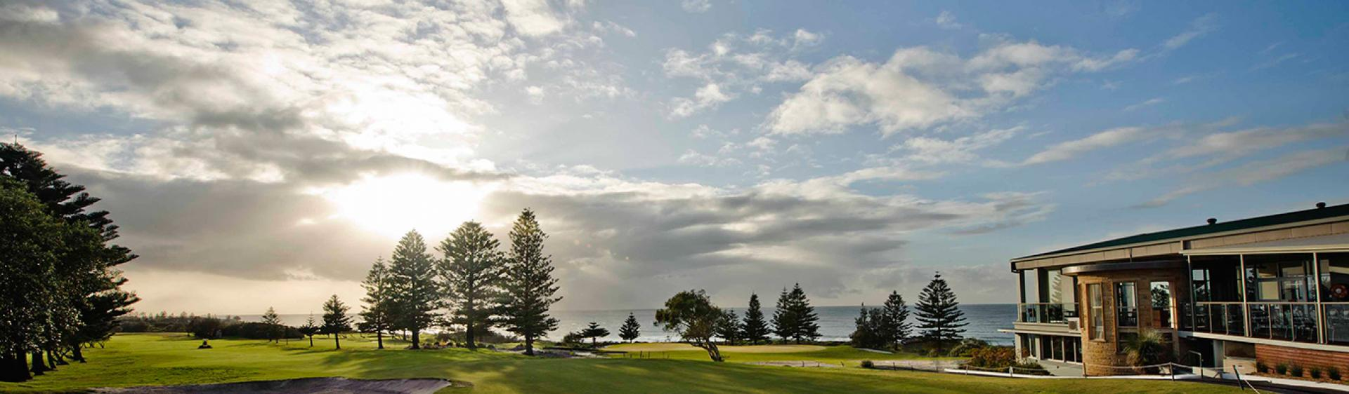 中央海岸 (Central Coast) 贝壳海滩高尔夫俱乐部 (Shelly Beach Golf Club)