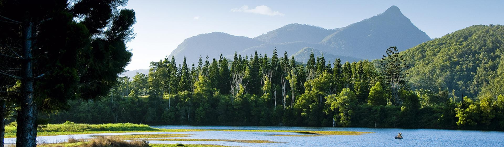 堤维德岬 (Tweed Heads) 沃宁山 (Mount Warning)