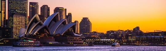 环形码头 (Circular Quay) 悉尼歌剧院 (Sydney Opera House)