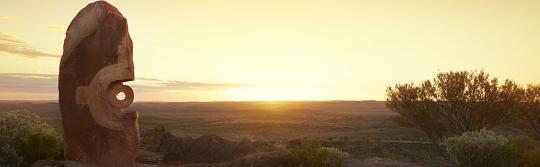 布罗肯希尔 (Broken Hill) 沙漠奇观雕塑