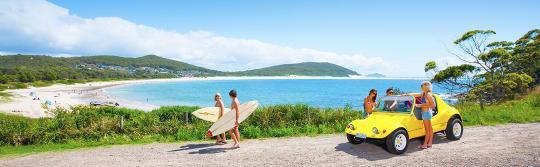 Surfing, Port Stephens