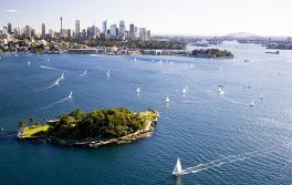 悉尼港国家公园 (Sydney Harbour National Park) 克拉克岛 (Clark Island)