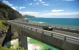 南海岸 (South Coast) 海崖大桥 (Sea Cliff Bridge)