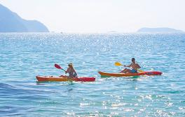 Kayaking, Port Stephens