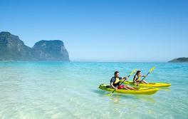 豪勋爵岛 (Lord Howe Island) 皮艇运动