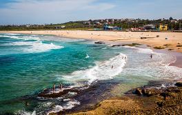 悉尼 (Sydney) 马鲁巴海滩 (Maroubra beach)