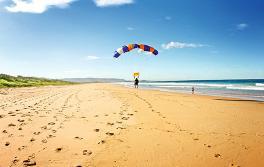卧龙岗 (Wollongong) 的高空跳伞